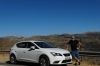 Bruce and our Seat Leon. White villages in the Alto Genal (Upper Genal Valley), Serrania de Ronda