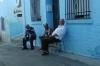 Blue village of Juzcar, home to Smurfs (Los Pitufos)