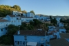 Blue village of Juzcar, home to Smurfs (Los Pitufos)