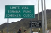 Highest point on the road between Cusco and Puno (4313m), La Raya PE