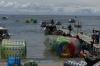 The beach on Lake titicaca at Cococabana BO