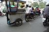 Carting anything and everything on Ham Nighi street, Saigon VN