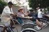 The cyclo tour of Saigon