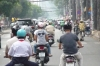 The cyclo tour of Saigon, VN