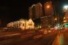 Night traffic outside the Opera House