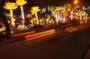 Night traffic on Le Loi