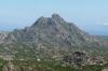 Rocky mountains of Désert des Agriates between Saint-Florent and L'ile Rousse, Corsica FR