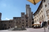 Lunch at the Piazza della Cisterna