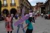 Bouncing sticks, Plaza Principal (El Jardin), San Miguel de Allende