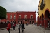 Buildings on the Plaza Principal (El Jardin), San Miguel de Allende
