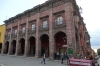 Buildings on the Plaza Principal (El Jardin), San Miguel de Allende