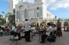 Band in Parque Cespedes