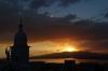 Sunset over Santiago de Cuba frm Hotal Casa Granda