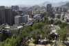 Santiago from Cerro Santa Lucia, Santiago CL