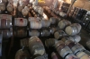 Hundreds of barrels. Loma Larga Vineyards (Long Hill), Casablanca Valley CL
