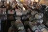 Hundreds of barrels. Loma Larga Vineyards (Long Hill), Casablanca Valley CL