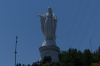 Statue of the Virgin Mary on Cerro San Cristobal, Santiago CL
