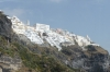 Thira from the cable car