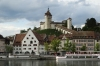 Schaffhausen on the Rhine River CH