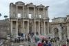Library of Celsus was built by Celsus' son Gaius Julius Aquila in honour of the Roman Senator Tiberius Julius Celsus, Ephesus TR
