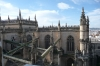 View from the Giralda (former minaret) of the Seville Cathedral