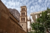 St Catherine's monastery - Christian and Muslim towers