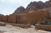 St Catherine's monastery with Mt Sinai behind