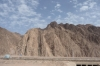 Sinai Desert, craggy and dry