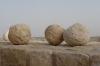 Shawbak (Crusader) Castle - catapult balls