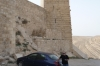 Shawbak (Crusader) Castle - our hire car