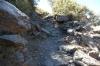 Rocky path, Peña del Angel walk