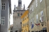 Clock Tower from the square, Sighisoara