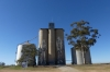 Silo Art by Kaff-eine in Rosebery VIC AU