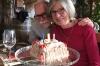Bruce & Thea and the cake. Kamnik Hunter's Lodge near Skopje MK