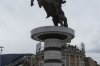 Alexander the Great statue in Macedonia Square, Skopje MK