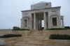 Entrance to National Australian Memorial, Villers-Bretonneux