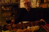 Bruce & his Bulgarian kebab - competition with an Andorra kebab in 2008