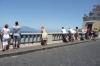 Gazing at the beach bums, Sorrento, Amalfi Coast
