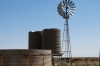 Australian style windmill between Helmeringhausen and Sossus, Namibia