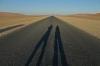 Selfie on the Desert Tar Road, Sossusvlei, Namibia