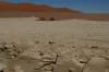 Salt pan, Sossusvlei Dunes, Namibia