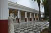 The courtyard, Achillion Palace, Corfu GR
