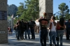 Another popular stop for the bikers. Mount Rushmore in the Black Hills