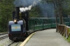 Terminus at Tierra del Fuego National Park. The Train to the End of the World, Ushuaia AR