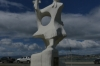 Monument to the aboriginal people, Ushuaia AR