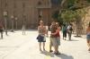Thea, Hayden & Elisse at Montserrat monastery ES