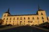 Palace at Lerma - our home for two nights. ES
