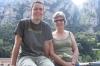 Hayden & Thea at Montserrat monastery. ES