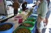Olive stall in Lerma. ES