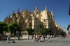 Cathedral of Neustra Senora de la Asuncion & of San Frutos, Plaza Mayor, Segovia ES